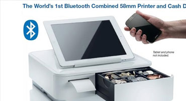 Star mPOP combined Bluetooth POS Receipt Printer and Cash Drawer ALL-IN-ONE System