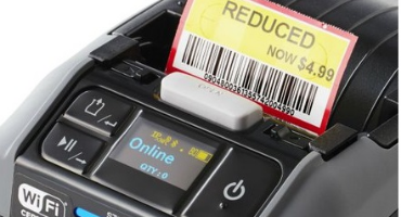 All NEW Sato PW2NX Mobile Barcode Label Printer for faster mobile label printing demands for supply chain and logistics
