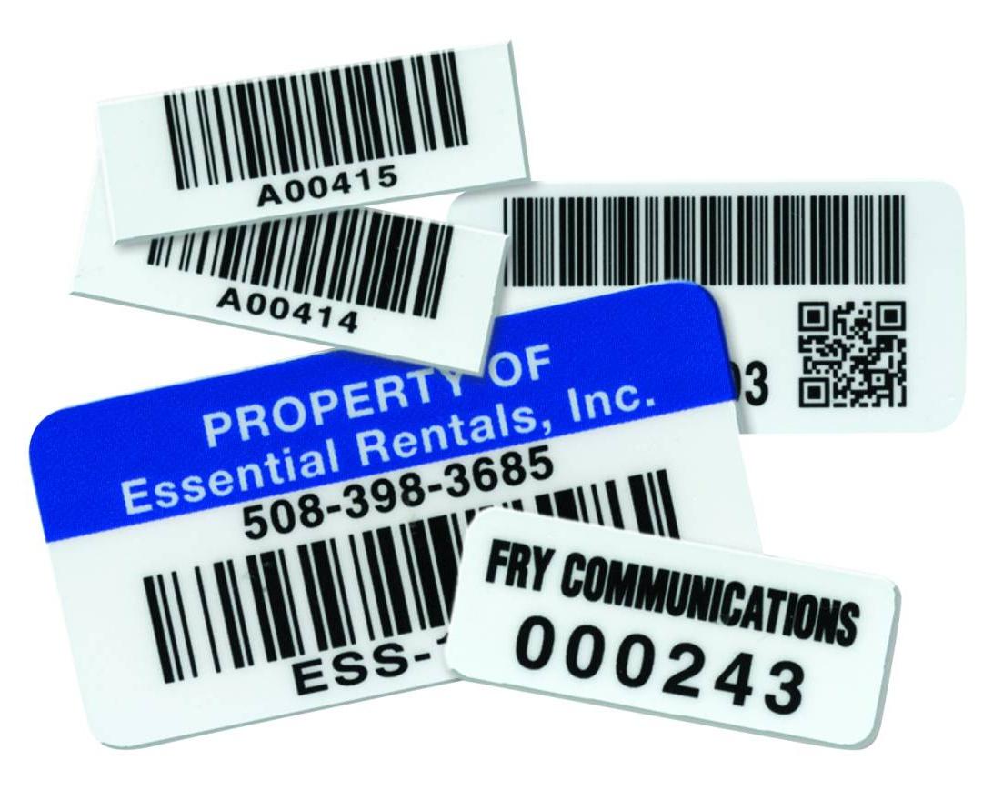 Ceramic Barcode Labels
