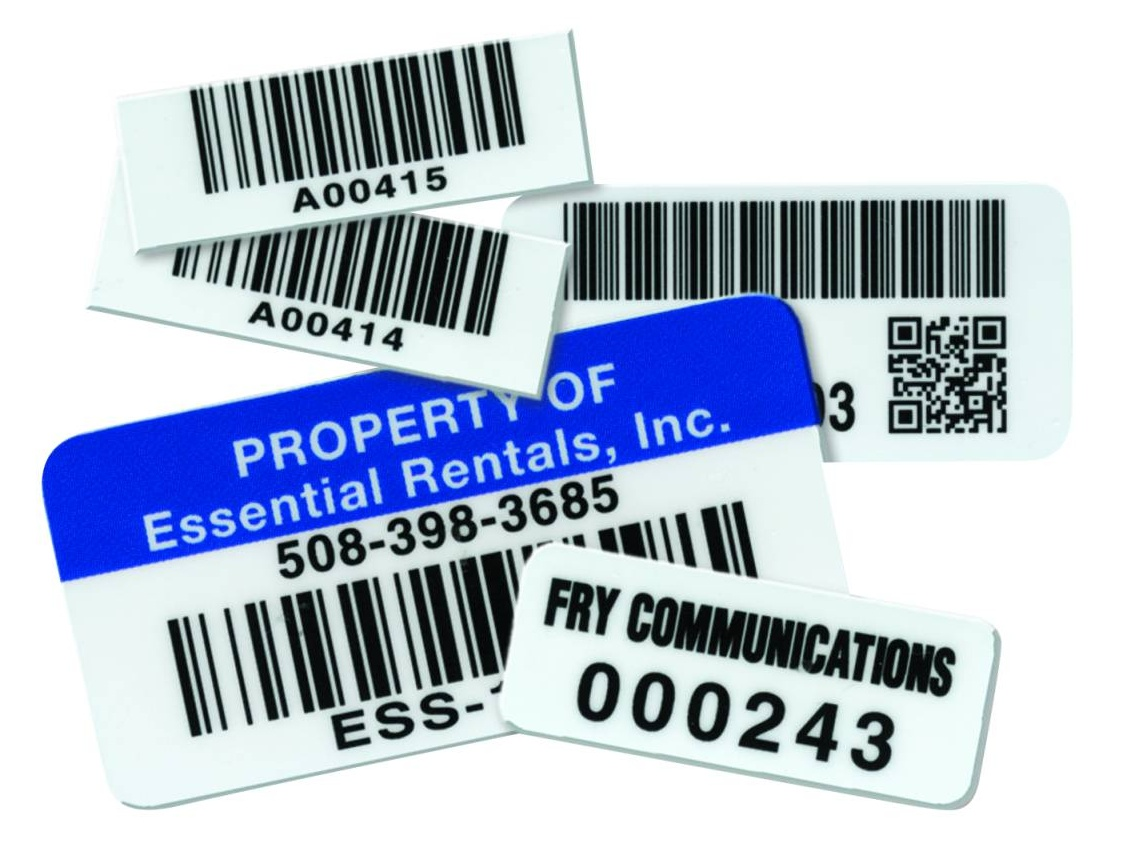 Asset Barcoded Labels for a Complete Asset Tracking Solution