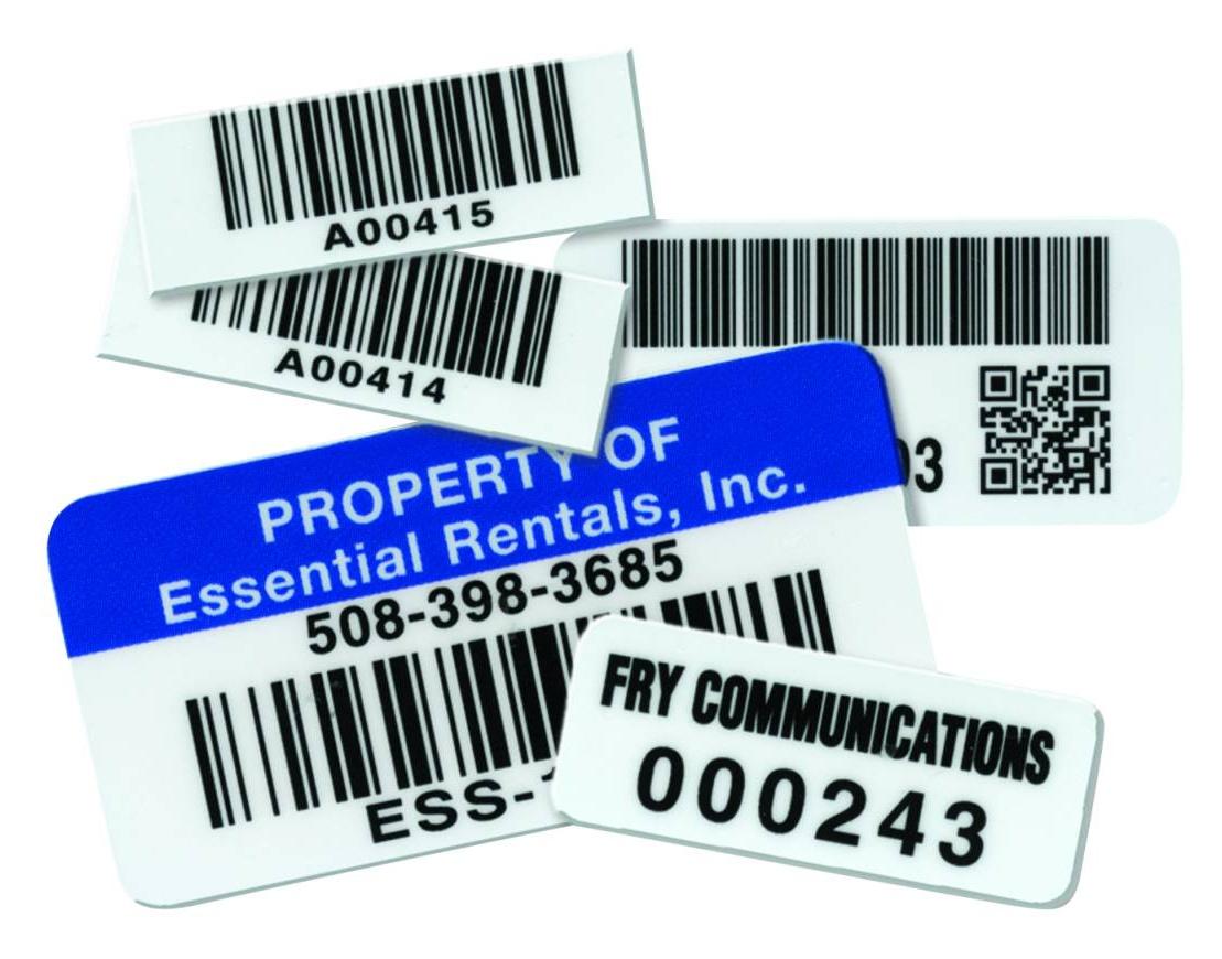 Autoclave Barcode Labels