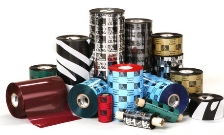 Zebra 2100 Wax Ribbons for Zebra Industrial Printers