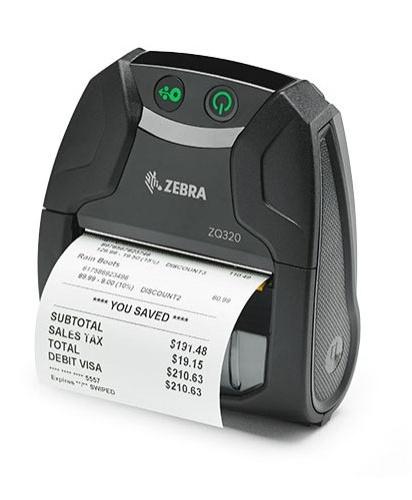 Zebra ZQ300 Mobile Barcode Label Printers
