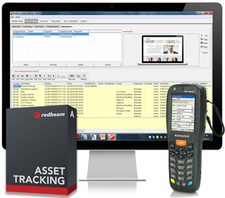 Asset Tracking Barcode Software Solution from Redbeam