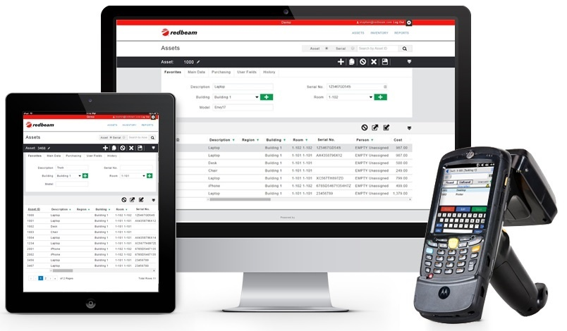 Enterprise Asset Tracking Software from RedBeam
