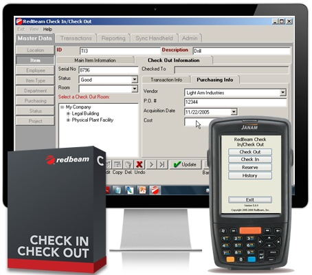 Check In / Check Out Software Solution from RedBeam