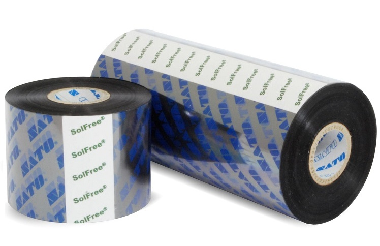 SATO SWR-300 Wax-Resin Near Edge Ribbon