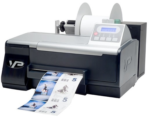 VIPColor VP485e Color Label Printer