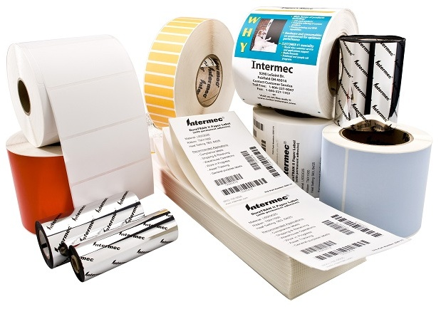 Honeywell Intermec Duratran II Thermal Transfer Paper Labels