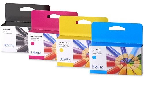 Primera Ink Cartridges for Colour Label Printers