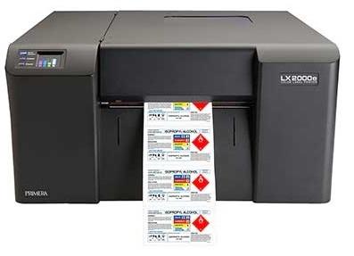 Pimera LX2000e Ink-Jet Colour Label Printer