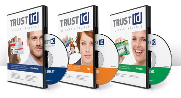 TrustID by CardExchange Design and Print ID Card Design Software
