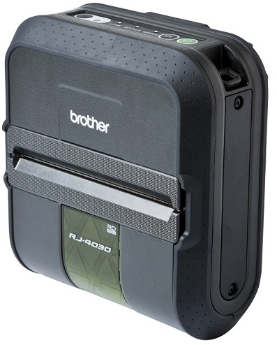 "Brother RJ-4000 4.0"" Label/Receipt Mobile Printer Series"