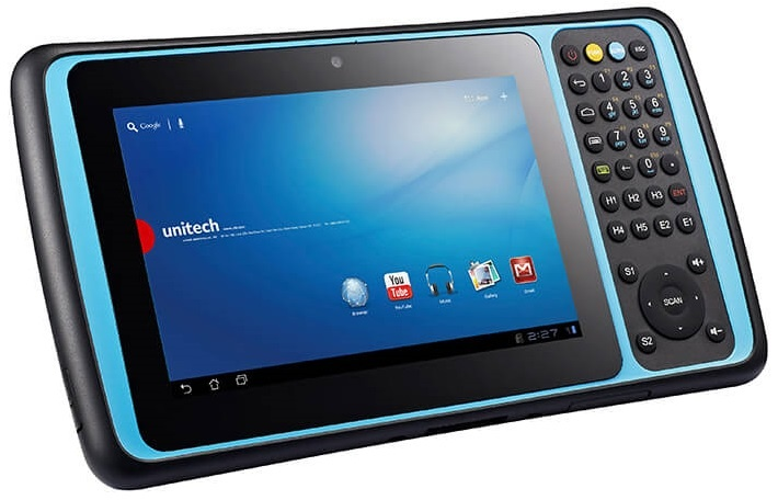 "Unitech TB120 Rugged 7"" Android Tablet Mobile Computer"