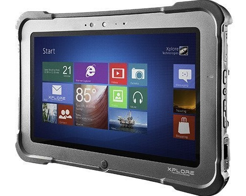 Xplore Bobcat Rugged Windows Mobile Computer Tablet