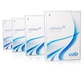 cab cablabel S3 Barcode Label Design Software