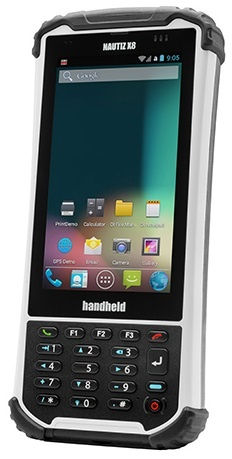 Handheld NAUTIZ X8 Ultra-Rugged Android or Windows Mobile Computer