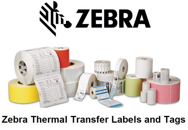 Zebra Thermal Transfer Labels and Tags