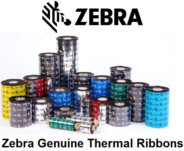 Zebra ZipShip 2300, Thermal Transfer Ribbon, Wax, 110mm width