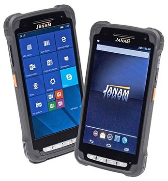Janam XT2 Android 5 Rugged Touch Mobile Computer Android 5.x (GMS), 1D & 2D Imager Barcode Scanner, 3000mAh battery