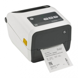 "Zebra ZD420-HC 4.0"" Wide Desktop USB Bluetooth Barcode Label Printer for healthcare"