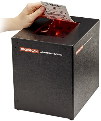 Omron Microscan LVS-9510 Desktop 1D and 2D Barcode Verifier