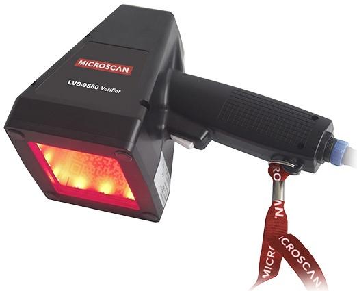 Omron Microscan LVS-9580 Handheld 1D & 2D Barcode Verifier