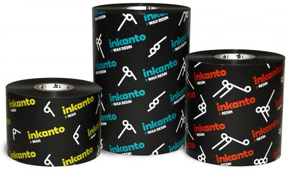 "Armor inkanto AXR 8 Premium Resin Ribbons for Flat Head Generic Industrial Printers Outside Wound 1.0"" Core"