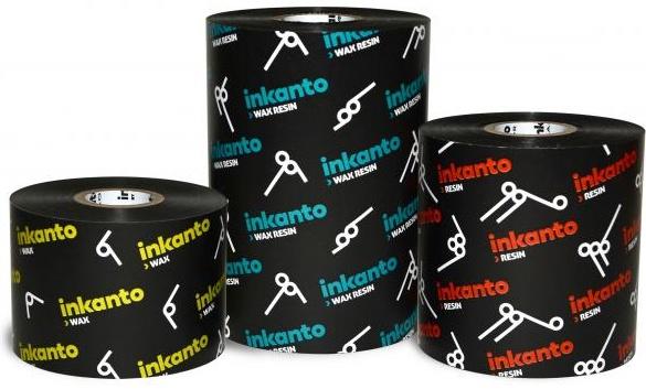 "Armor inkanto AXR 8 Premium Resin Ribbons for Flat Head Generic Industrial Printers Inside Wound 1.0"" Core"