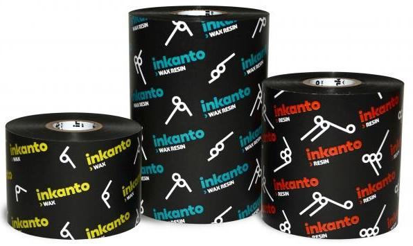 "Armor inkanto AXR 1 Resin Ribbons for Generic Desktop Printers Inside Wound 0.5"" Core"
