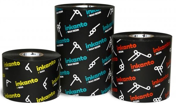 """Armor inkanto AXR 1 Resin Ribbons for Flat Head Generic Industrial Printers Outside Wound 1.0"""" Core"""