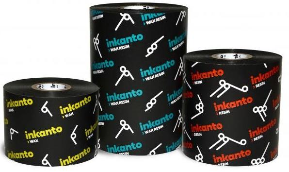 """Armor inkanto AXR 8 Premium Resin Ribbons for Flat Head Generic Desktop Printers Inside Wound 0.5"""" Core"""
