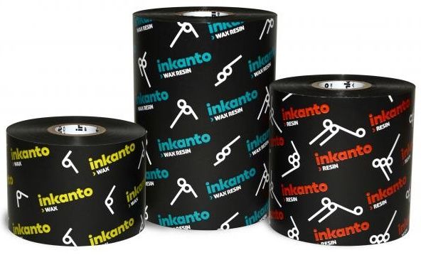 "Armor inkanto AXR 7+ Resin Ribbons for Flat Head Generic Desktop Printers Inside Wound 0.5"" Core"