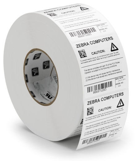 Zebra Zipship Labels 3100T PolyE Thermal Transfer Polyethylene Labels