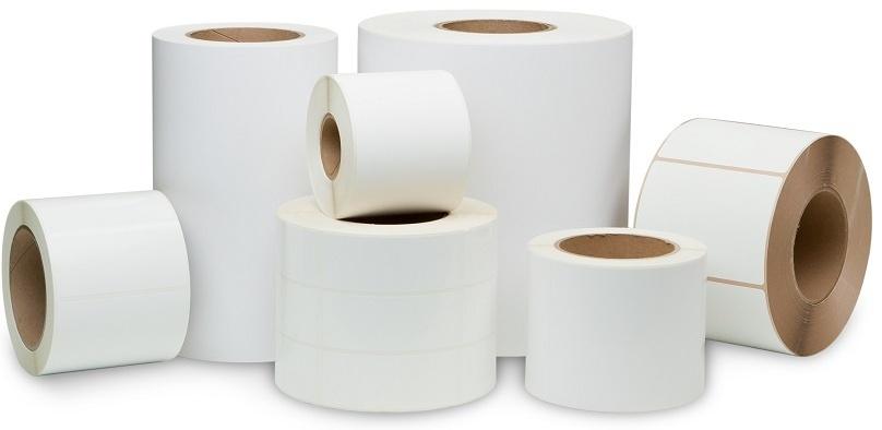 Labels paper, plastic