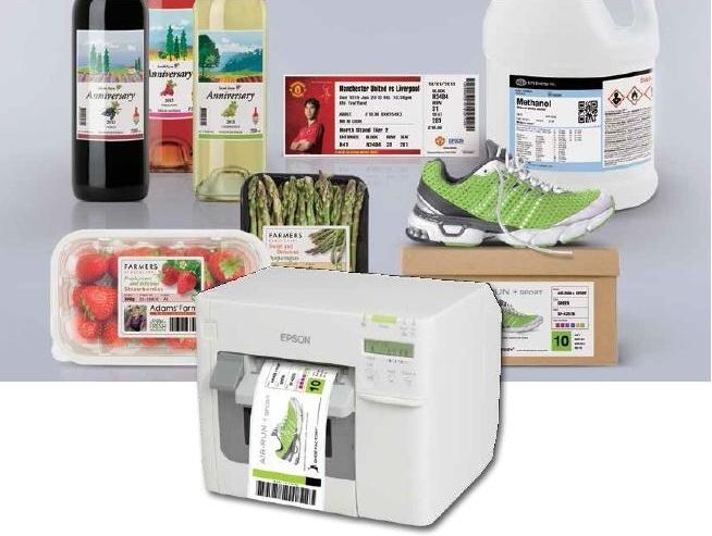 Epson Inkjet Labels
