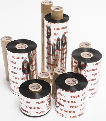 Toshiba TEC Resin Scratch/Solvent Thermal Transfer Ribbons for B-452, B-SA4 and B-EX4-T2 Printers