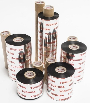Toshiba TEC Wax/Resin Smearless Thermal Transfer Ribbons for Toshiba TEC B-EX4-T2 Printers