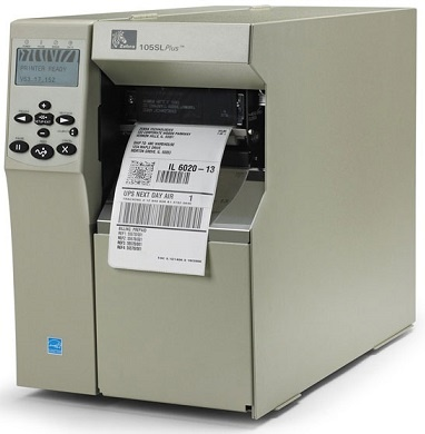 "Zebra 105SL 4.0"" wide Thermal Barcode Label Printer"