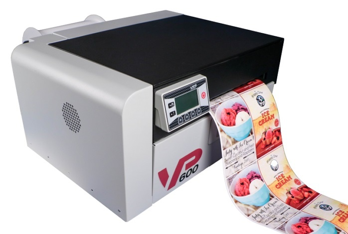 VIP VP600 Color Ink-Jet Label Printer
