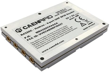 CAEN Hadron R4320C 4-port Embedded RAIN RFID Reader