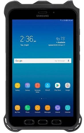 "Samsung Galaxy Tab Active2 Rugged Android 8.0"" Wide Tablet"