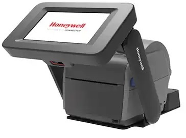 Honeywell PC43K All-in-one Integrated Kiosk Solution includes EDA71 Tablet, PC43 Label Printer & 1D/2D Barcode Scanner and Software