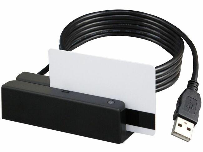 Uniform UIC MSR213U Magnetic Credit Card 3-Track USB Reader