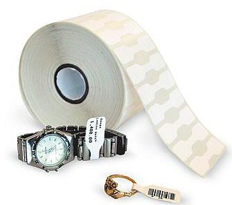 Zebra 8000D Jewelry White Coated Polypropylene Labels for Zebra Desktop Printers