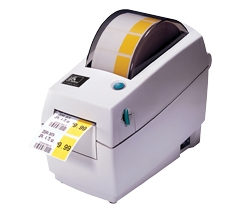 "Zebra LP2824 Plus 2.0"" wide Direct Thermal Barcode Label Printer"