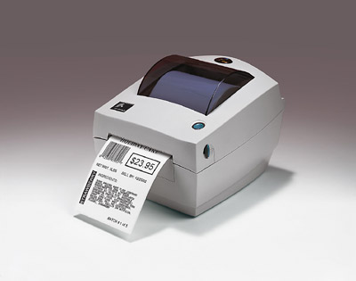 "Zebra LP2844Z Desktop 4"" Wide Direct Label Printer"