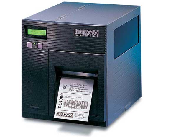 SATO CL408e / CL412e Industrial RFID Printers