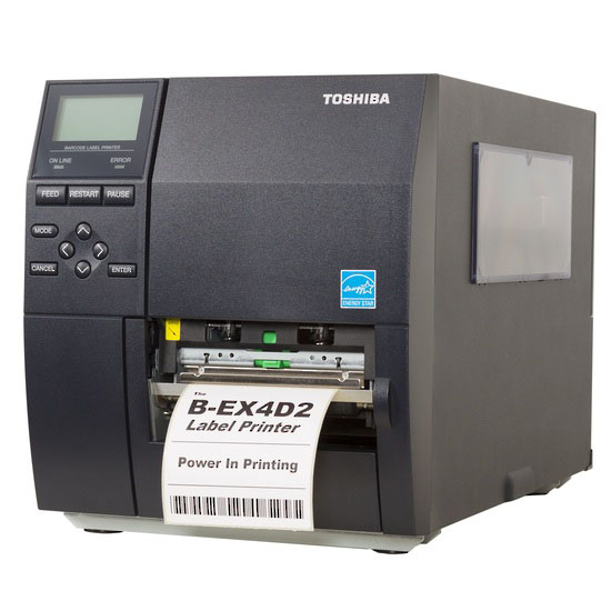 Toshiba TEC B-EX4D2 Direct Thermal Industrial Printer
