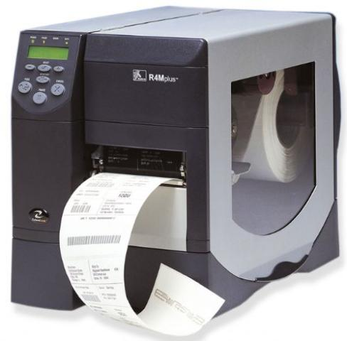 Zebra Technologies R4M Plus UHF RFID Encoder Thermal Transfer Printer